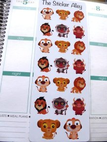 Lion King Stickers